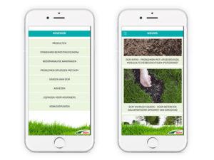 DCM app voor Hoveniers