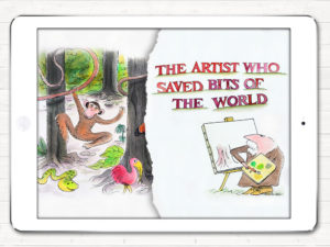 The Artist Mortimer 2 – The Artist who saved bits of the world